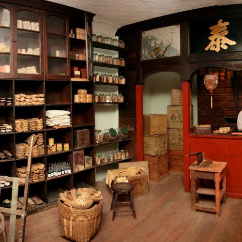 gallery view of Tuck High Chinatown shop recreation