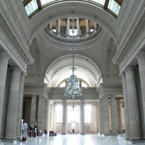 Rotunda in the State Education Building