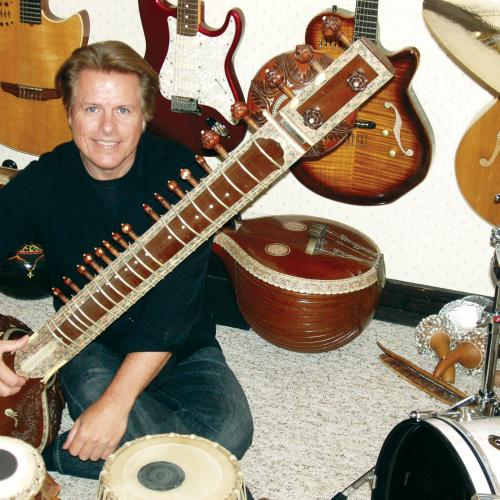 randy with instruments color