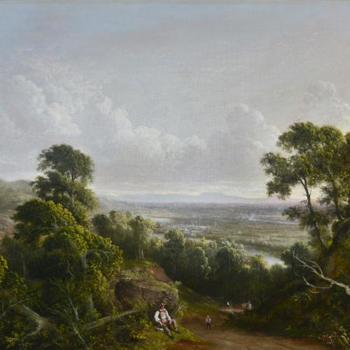 View from Mount Ida, 1845
