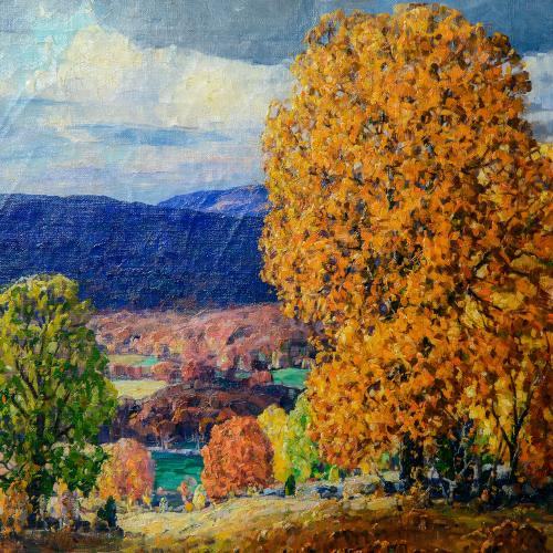 Chase, Frank Swift, Catskills at Woodstock, 1927, oil on canvas, 22 x 28 in.,