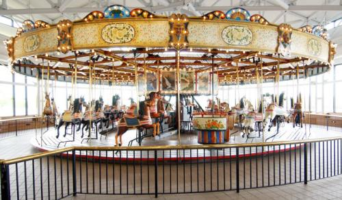 Photo of museum carousel