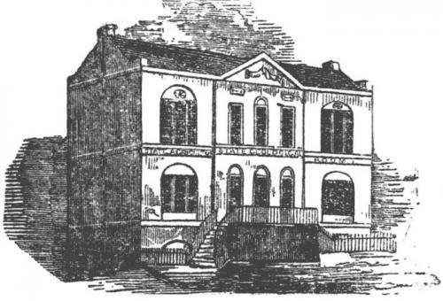 Drawing of the Old State House