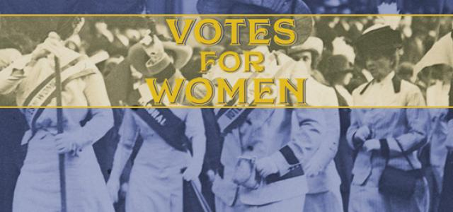 Votes for Women - Education Resources Banner