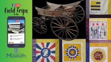 Field Trip to the NYSM:  Suffrage Wagon & Susan B. Anthony House 2020 Quilt Project