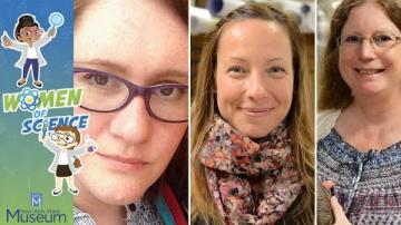 Women of Science: Fossils in the Field with Dr. Lisa Amati, Sarita Morse, and Kathleen Bonk