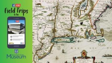 Field Trip to the NYSM - Maritime Landscapes in New York