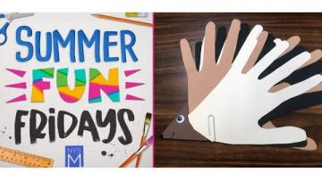 Summer Fun Friday: Paper Porcupine