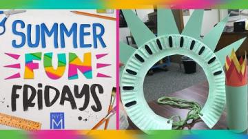 Summer Fun Friday: Statue of Liberty Crown & Torch
