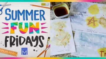 Summer Fun Friday: Invisible Ink