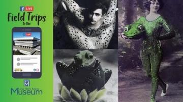 Field Trip to the NYSM: Human Frogs: Two Vaudeville Performers