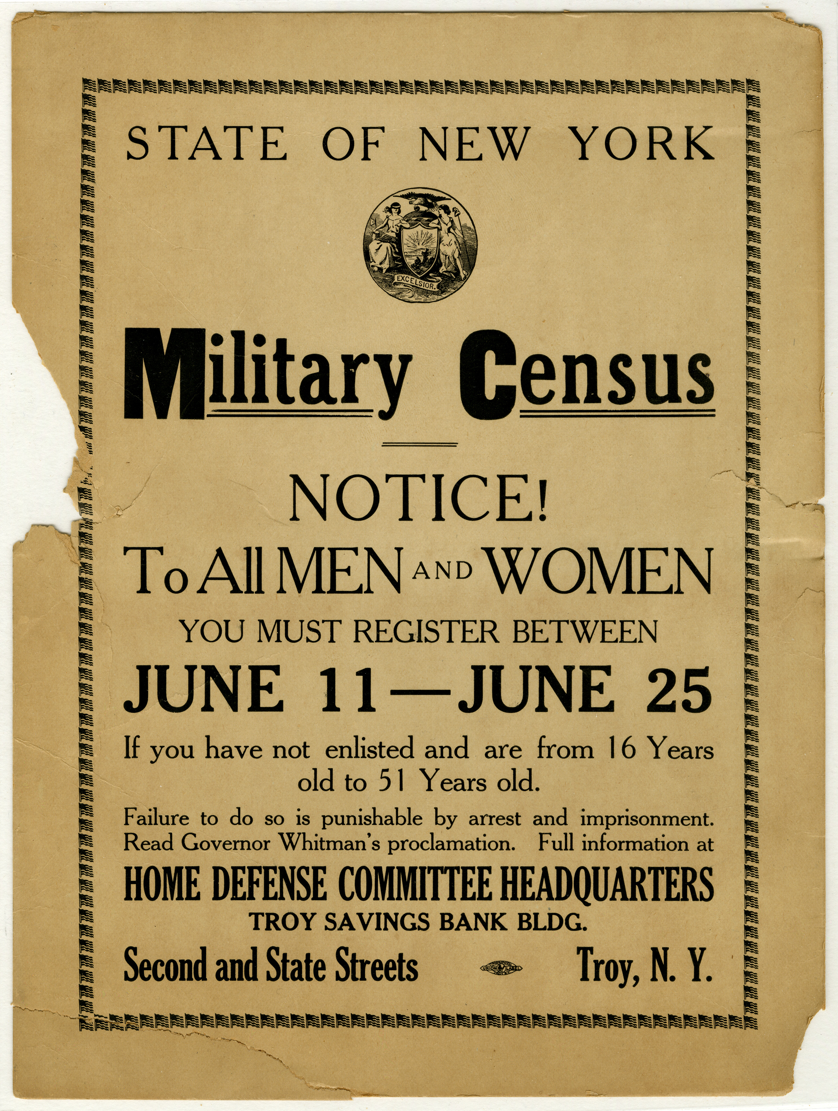 World War I Exhibition Photos | The New York State Museum
